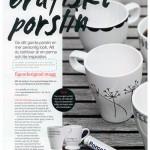 Målade muggar, bild från Craft & Creativity