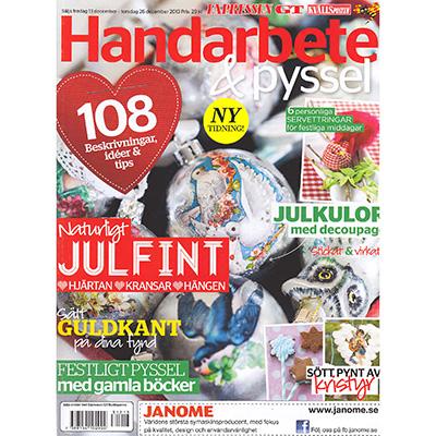 Expressen Handarbete & Pyssel - dec 2013