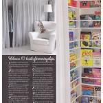 Sovrum och barnens bokhylla