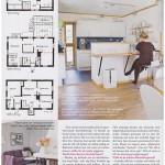 Planlösning, kök & vardagsrum