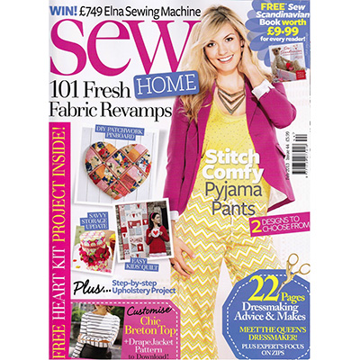 Sew Magazine - jan 2013