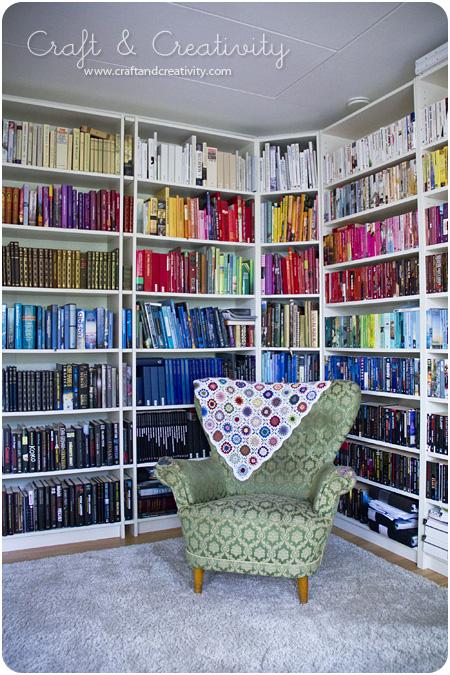 Inred med böcker u2013 Decorate with books Craft& Creativity u2013 Pyssel& DIY