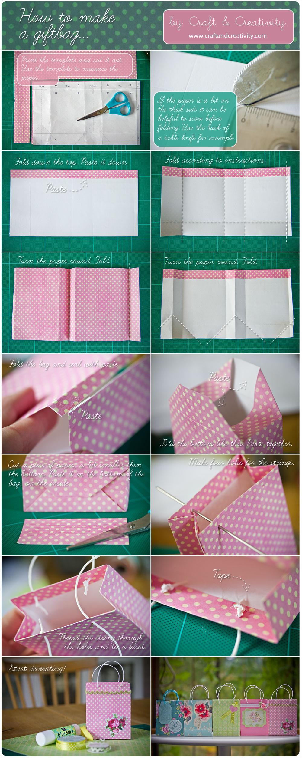 Как сделать из подарочного пакета коробку