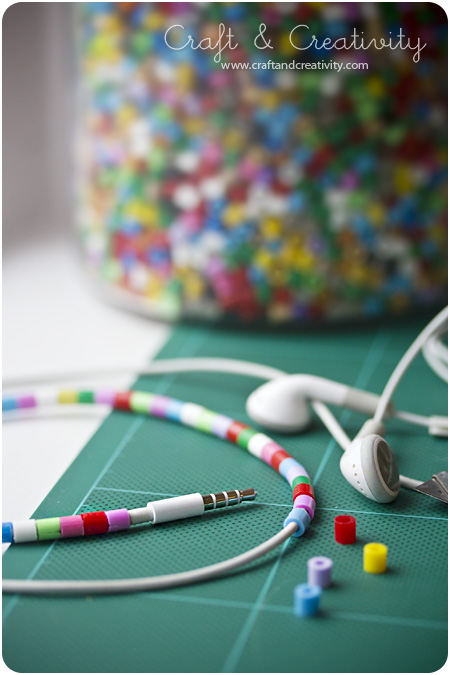 how-to: decorate your earbuds