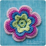 Crochet flower - by Craft & Creativity