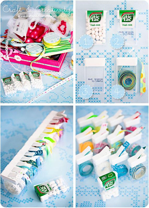 Ordning bland banden – Organized trims & ribbons   Craft & Creativity – Pyssel & DIY