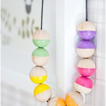 Wooden bead necklace - by Craft & Creativity