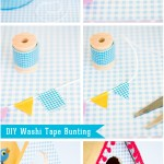 Washi Tape Bunting