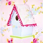Birdhouse lamp - by Craft & Creativity