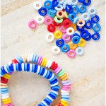 Melted plastic beads - by Craft & Creativity