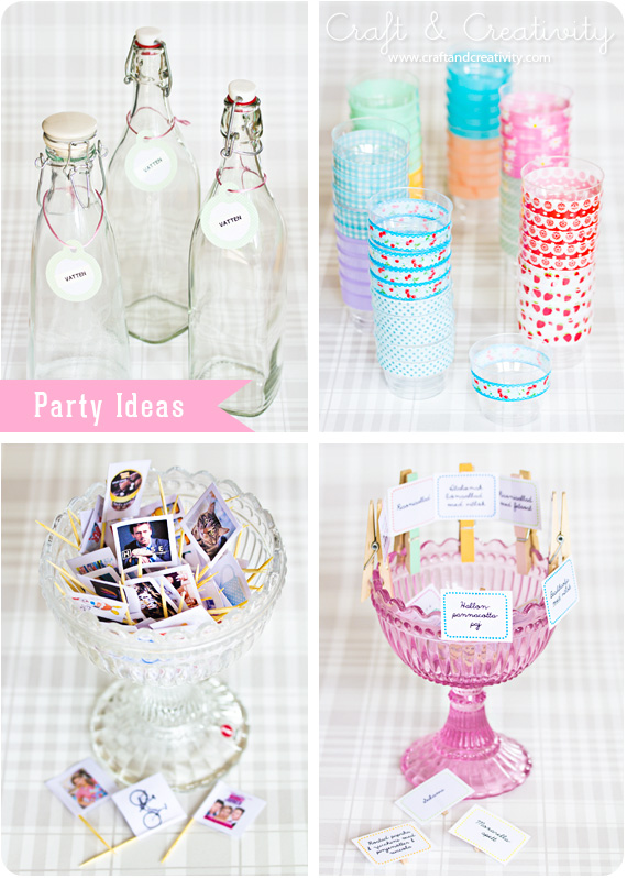 party ideas craft and creativity