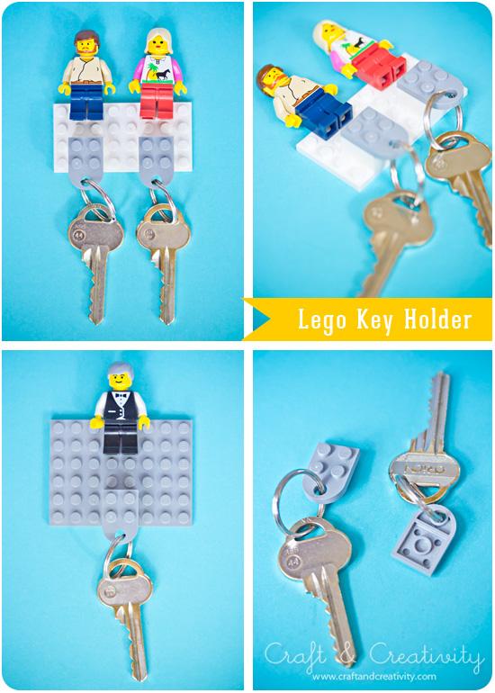 Lego Nyckelh Llare Lego Key Holder Craft Creativity