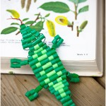 Beaded lizard - by Craft & Creativity
