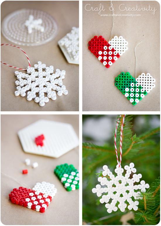 P Rlade Julh Ngen Beaded Ornaments Craft Creativity