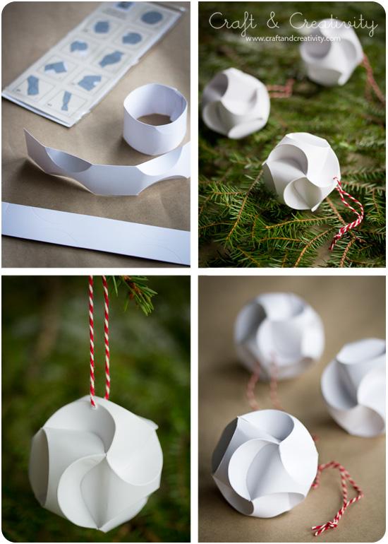 Julpyssel i papper -Christmas paper crafts   Craft ...