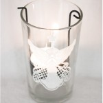 Glass lanterns with rubons - by Craft &amp; Creativity