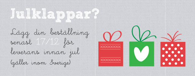 Julklappar - Make &amp; Create