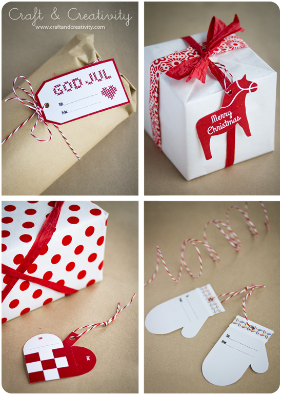 Tags, free download - from Craft & Creativity