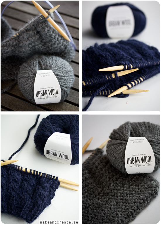 Urban Wool Knit Kit - från Make & Create