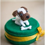 Amigurumi dogs by Annie's Granny, featured on Craft &amp; Creativity