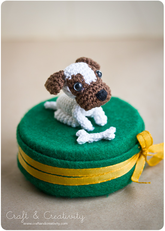 Amigurumi dogs by Annie's Granny, featured on Craft & Creativity