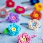 Crocheted flowers by Craft & Creativity