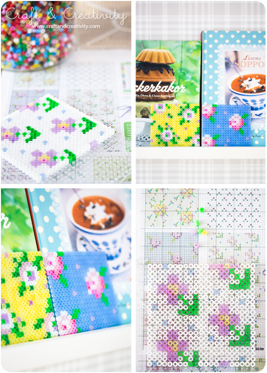 Cross stitch patterns on pegboards - by Craft & Creativity