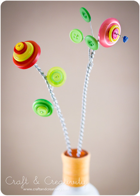 More button crafts - by Craft & Creativity