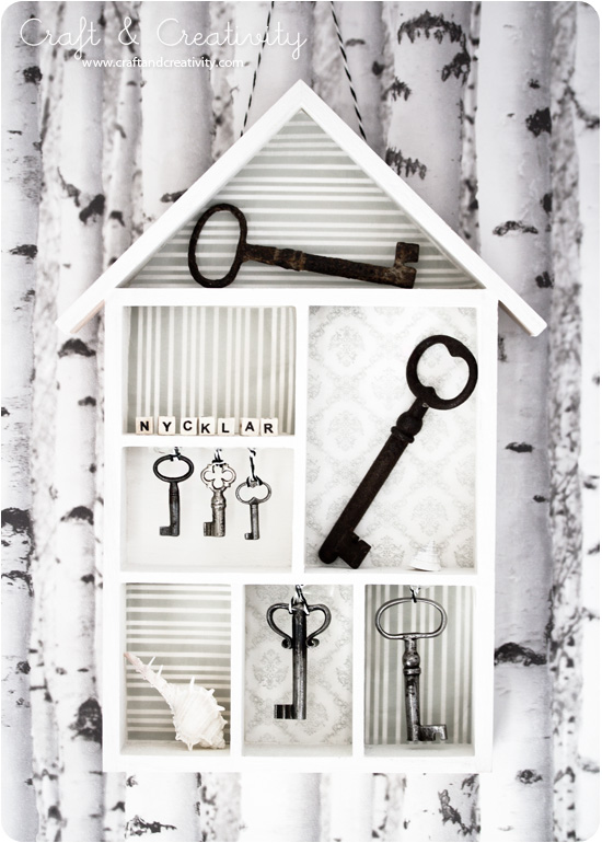 Key house - by Craft &amp; Creativity