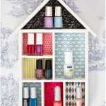 Nail polish shelf - by Craft &amp; Creativity