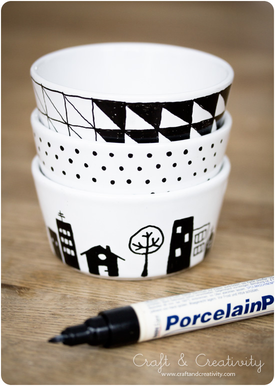 Painting porcelain - by Craft &amp; Creativity