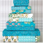 Turquoise boxes - by Craft &amp; Creativity