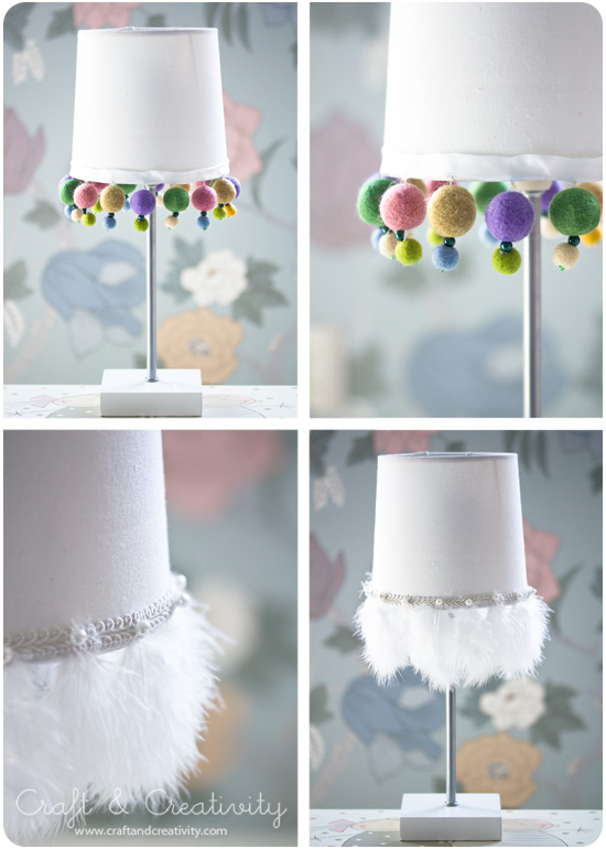 Pimped lampshades - by Craft &amp; Creativity
