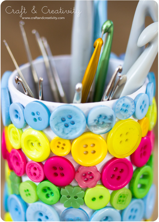 Crochet hook holder - by Craft & Creativity