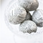 Newspaper eggs - Craft & Creativity