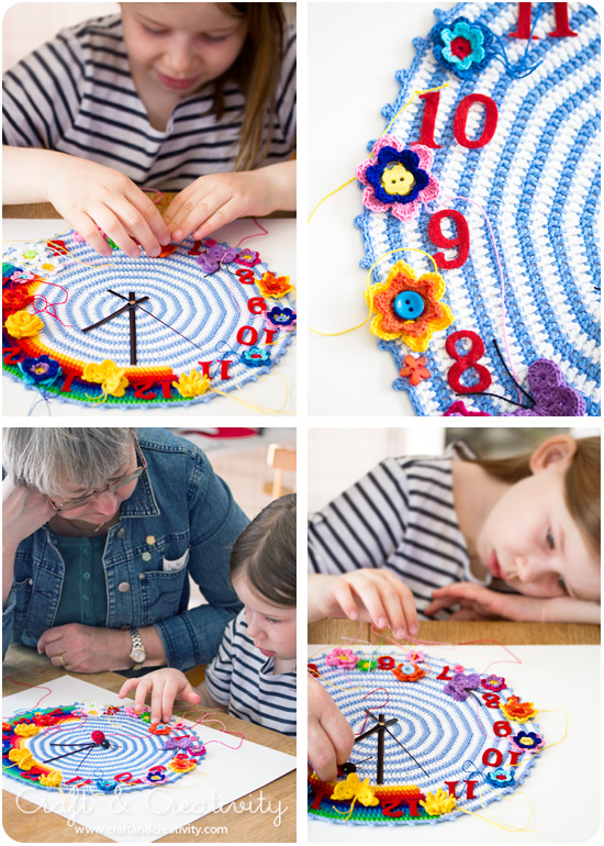 Grandma's Clocks - by Craft & Creativity