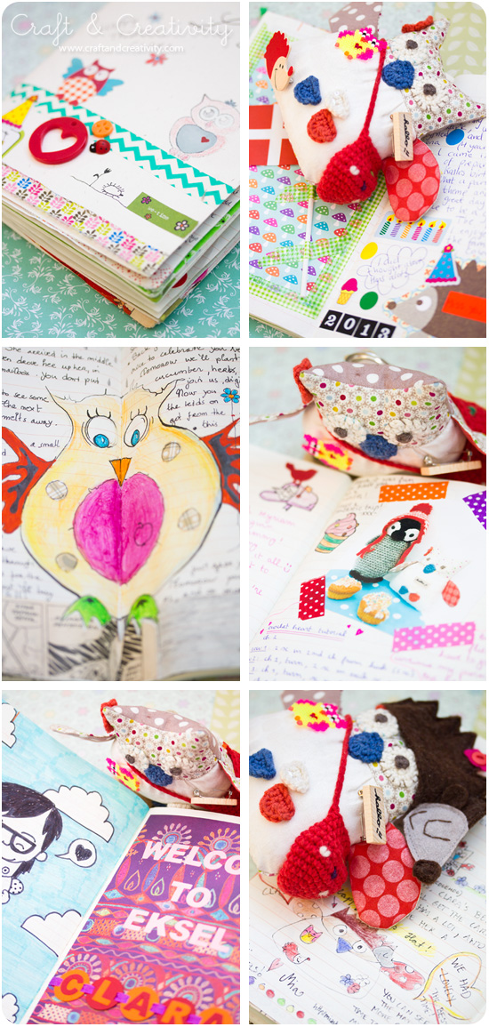 Clara the Travelling Owl - visiting Craft & Creativity