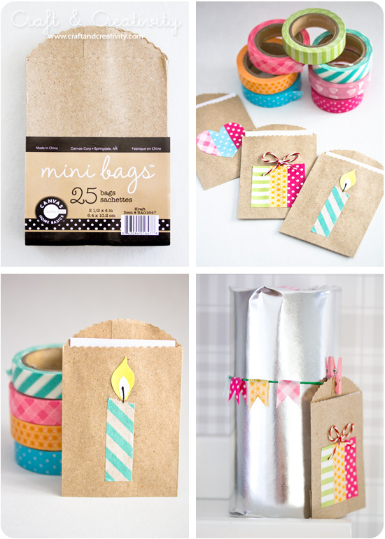 Small gift bags - by Craft &amp; Creativity
