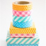 Washi taped boxes - by Craft &amp; Creativity