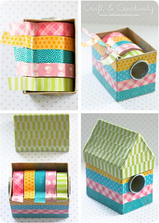 Hållare för washitejp – Washi tape dispenser | Craft & Creativity – Pyssel & DIY