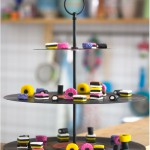 Vinyl Record Cake Stand - by Craft & Creativity