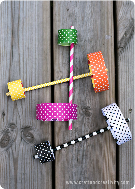 Paper Straw Airplanes - by Craft & Creativity