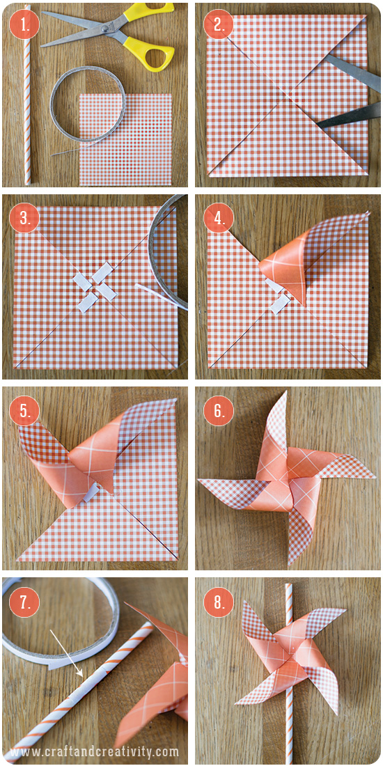 Pinwheel straws - by Craft & Creativity