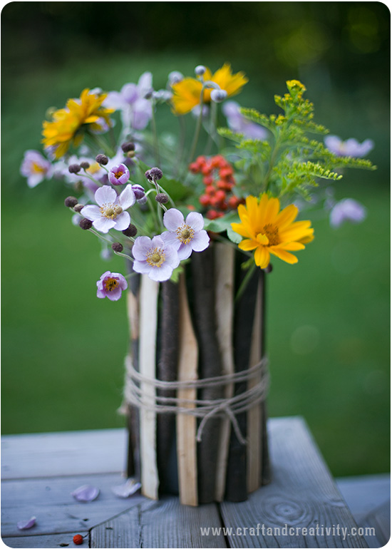 Simple flower vase - by Craft & Creativity