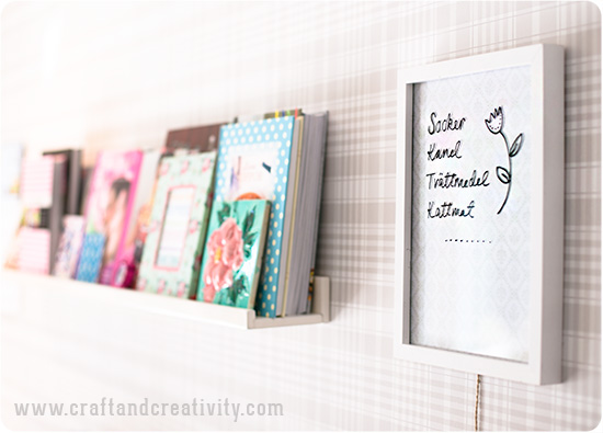 Erasable board - by Craft & Creativity