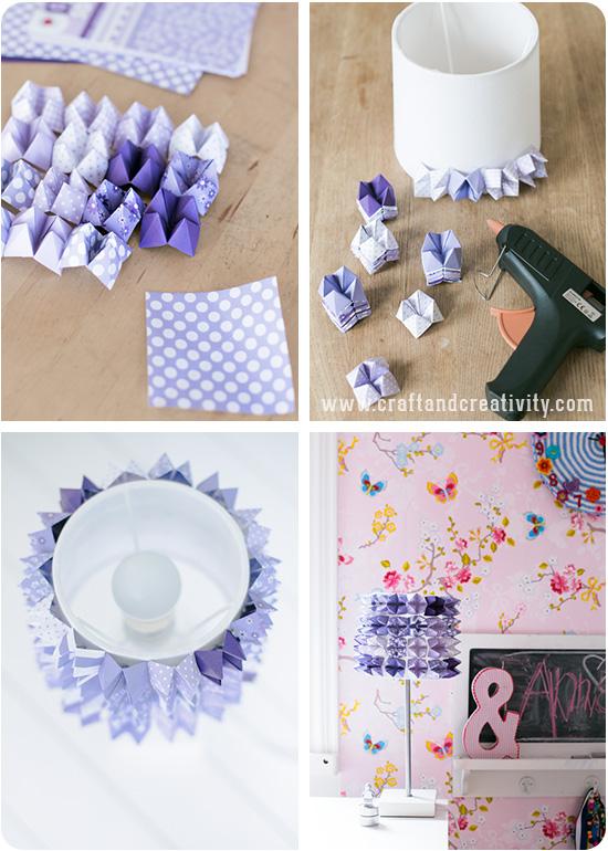Ideas para hacer tu propia l mpara papelisimo - Lamparas para dormitorios infantiles ...