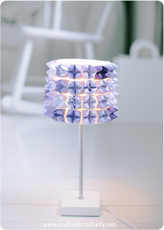 Lampe bricolage teller Fortune - par Craft & Créativité