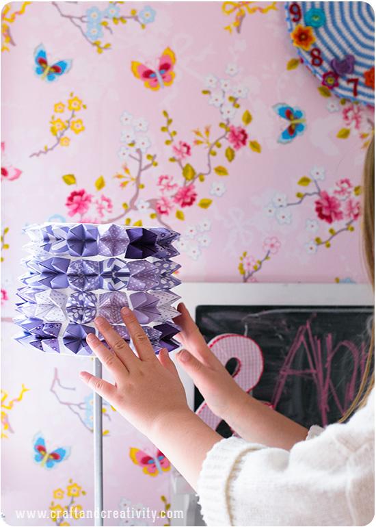 DIY Fortune teller lamp - by Craft & Creativity
