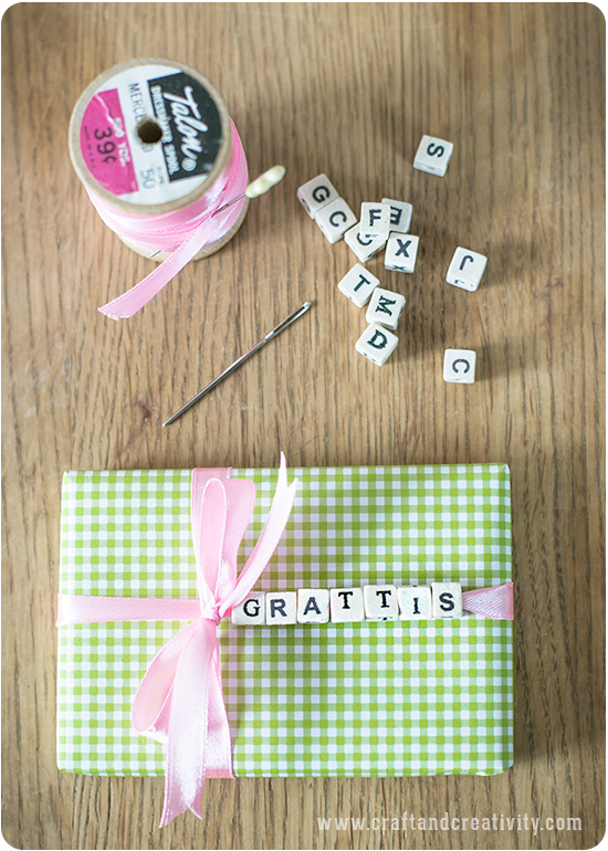 Gift wrapping - by Craft & Creativity