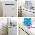 Blackboard foil on drawers - by Craft & Creativity